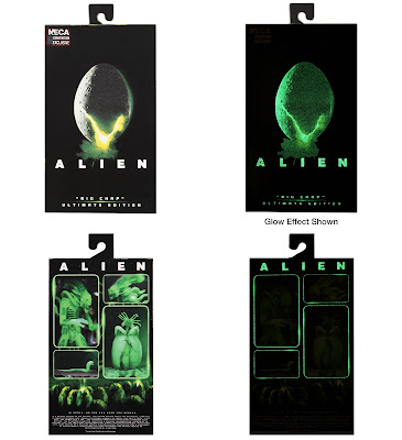 "San Diego Comic-Con 2020 Exclusive Alien Ultimate Big Chap Glow in the Dark 7"" Scale Action Figure by NECA"