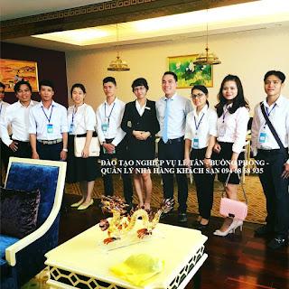 Đào tạo nghiệp vụ lễ tân, nghiệp vụ buồng phòng, quản trị khách sạn tại Nha Trang