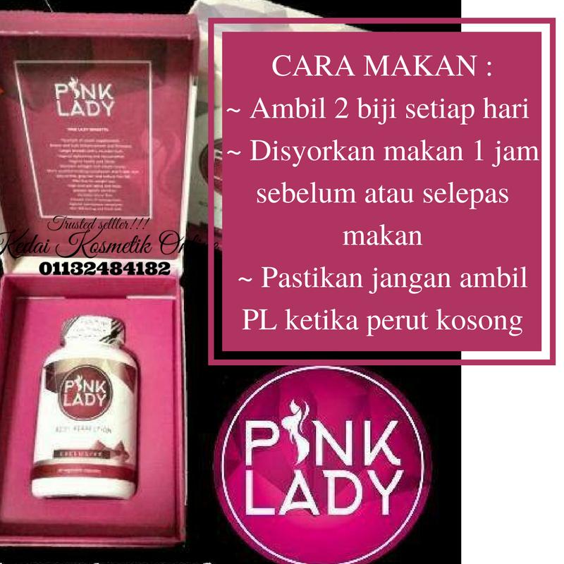 PINK LADY BODY PERFECTION SUPPLIMENT KHAS UNTUK WANITA