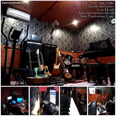 Studio Rekaman dan Les Musik Jakarta