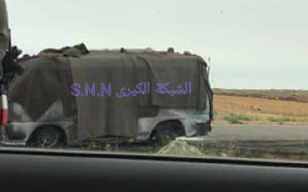 بالاسماء : شهداء باستهداف سرفيس على طريق دمشق السويداء .