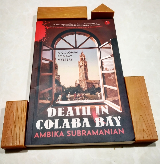 DEATH IN COLABA BAY: A Colonial Bombay Mystery by Ambika Subramanian