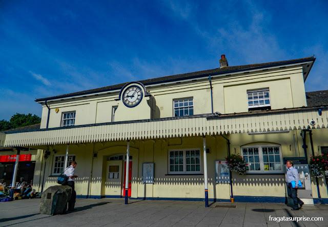 Estação de trens de Winchester, Inglaterra