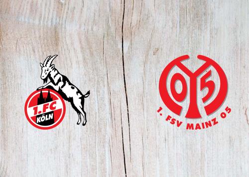 Köln vs Mainz 05 -Highlights 11 April 2021