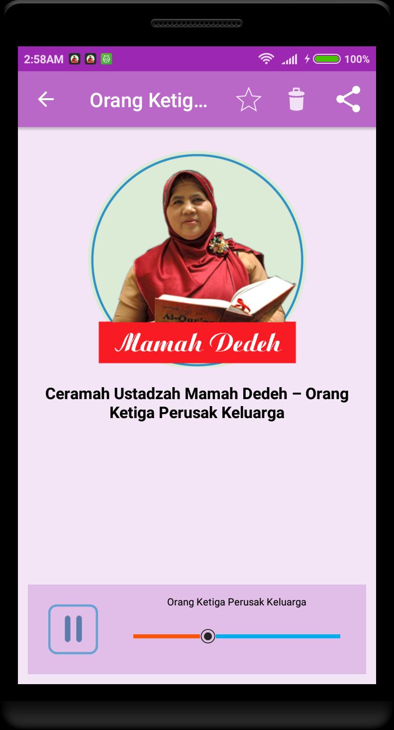 Ceramah Mamah Dedeh 2017