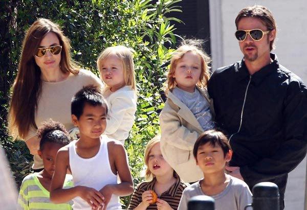 Brad Pitt es acusado de abuso infantil