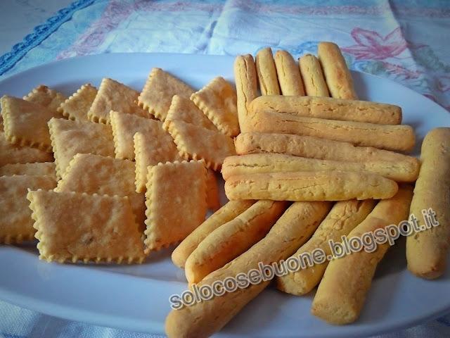 Grissini e sfogliatine con farina di ceci
