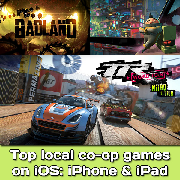 Top local co-op games on iOS