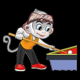 Logo dan Lambang Cabang Olahraga PON Jabar 2016 Billiard