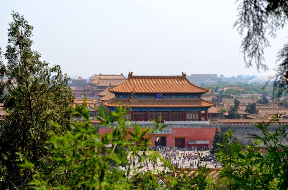 Beijing- Pekin i jego kolory