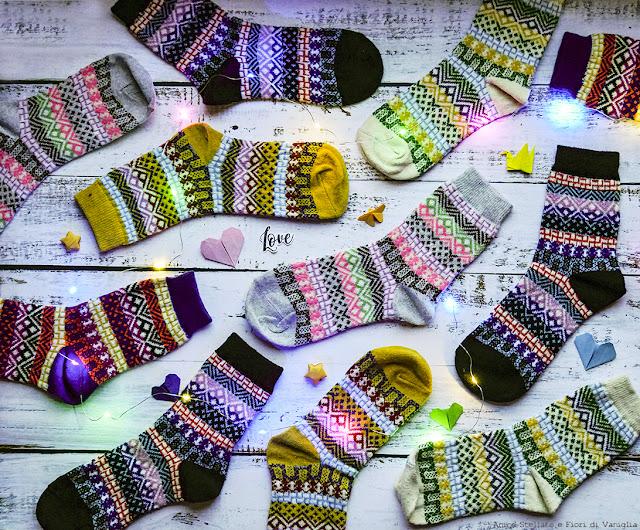 calzini invernali Amazon recensione