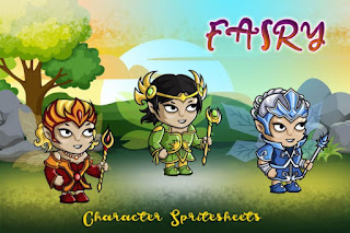 Kumpulan Assets Sprite Character Construct 2 dan 3 Gratis
