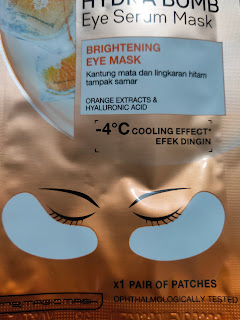 Masker Mata Garnier Brightening