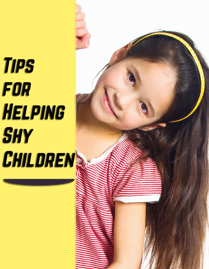 Tips for Helping Shy Children