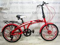Sepeda Lipat Exotic MT2026MK Mag Wheel 20 Inci