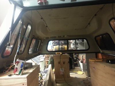 Custom Truck Cap for Camping