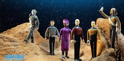 Star Trek: The Next Generation ReAction Figures Series 1 by Super7