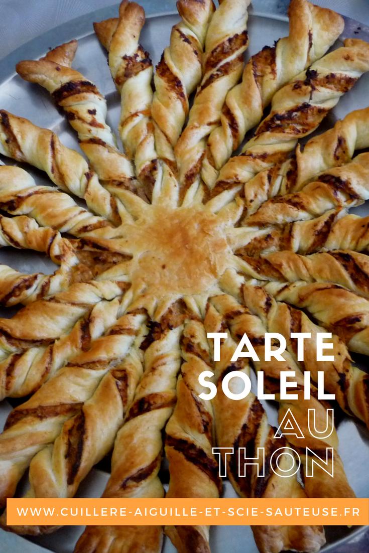 Cuillère Aiguille Et Scie Sauteuse Tarte Soleil Au Thon