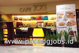 Lowongan Kerja Cafe XXI Transmart Padang Juli 2018
