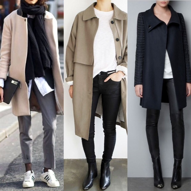 Looks that inspire me to add white tees and shirts to my winter wardrobe.
