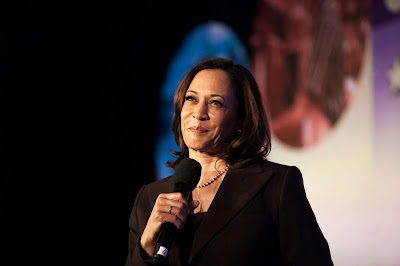 Democratic VP candidate Kamala Harris
