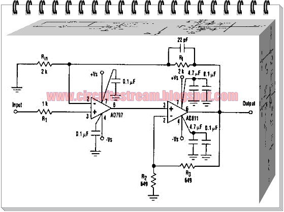 Speed Up Composite Amplifier Circuit Diagram