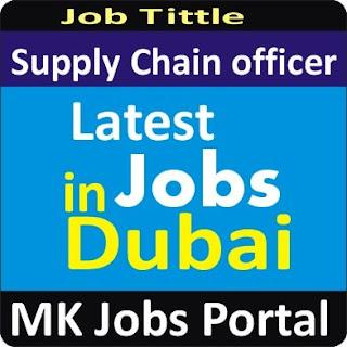 Supply Chain Management Jobs In UAE Dubai With Mk Jobs Portal