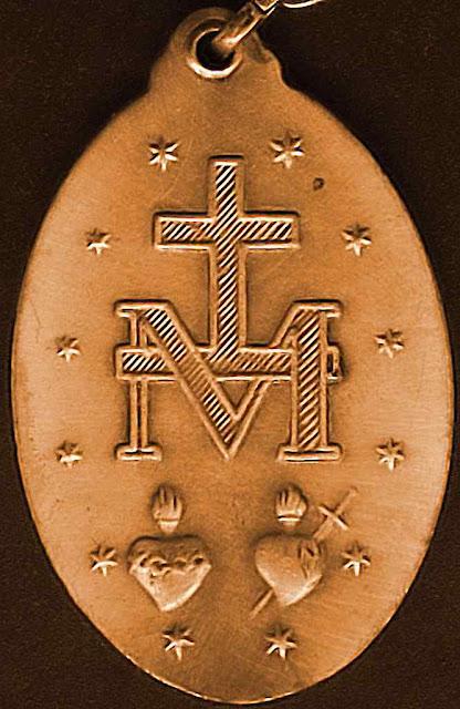 Medalha Milagrosa verso