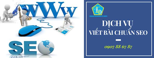 Dịch vụ viết bài chuẩn seo giúp hỗ trợ seo web
