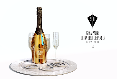 [ ISHIKU ] Champagne Ultra Brut Dispenser Fatpack