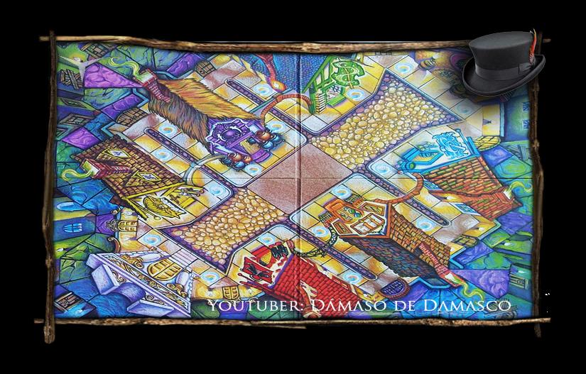 Juegos De Mesa Harry Potter Juego Callejon Diagon Resena