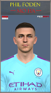 PES 2017 Faces Phil Foden by Mo Ha