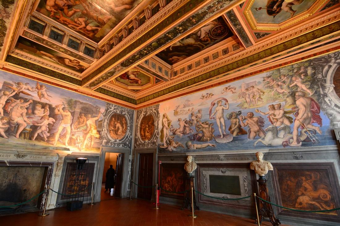 salle des éléments Palazzo Vecchio