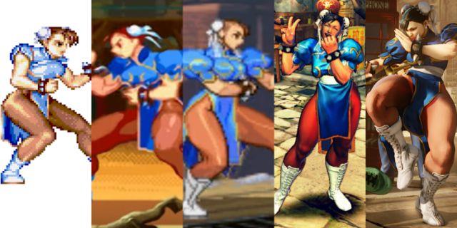 The Evolution of Chun-Li (Arkreiders)