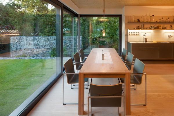 Desain interior ruang makan rumah minimalis