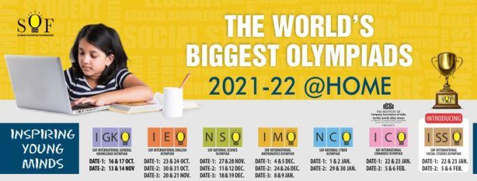 Science Olympiad Foundation(SOF) Olympiads