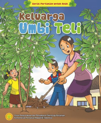 Keluarga Umbi Teli - Serial Komik Pertanian