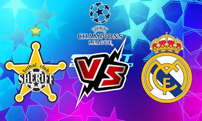 ريال مدريد و شيريف تيراسبول بث مباشر