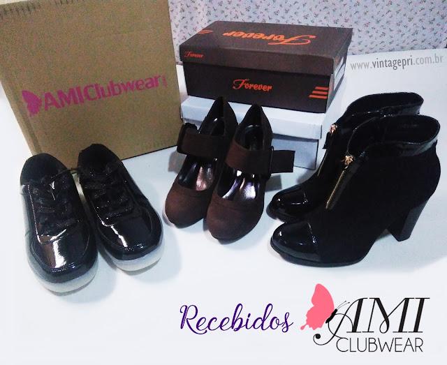 [Review] Sapatos da loja AMIClubwear