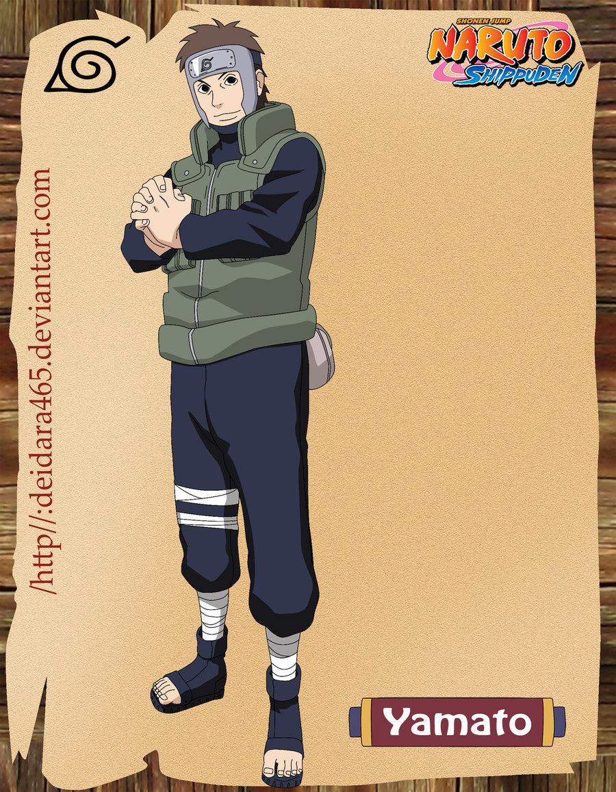 Imagenes de Naruto Shippuden : Sai y Yamato