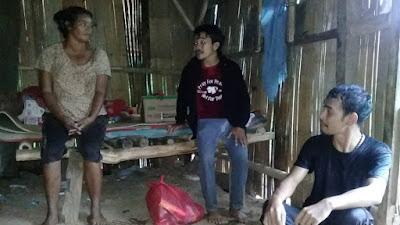 Komunitas Sant' Egidio Labuan Bajo Beri Bantuan Untuk Seorang Janda di Mbrata