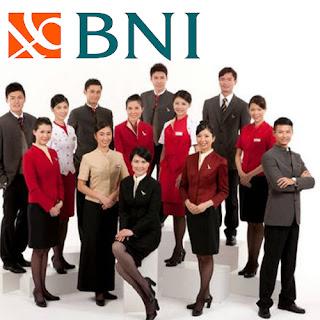 Info Gaji Bank Negara Indonesia (Persero) Tbk (BNI) 2017 semua posisi