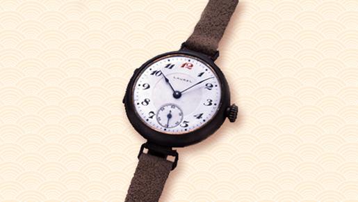 e5447ce12f1 Somente no ano de 1924 a marca SEIKO foi utilizada pela primeira vez em  seus relógios de pulso