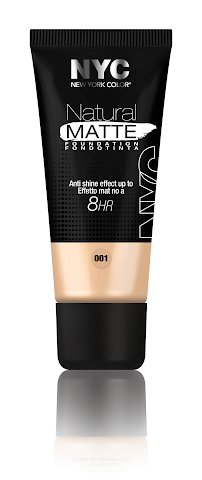 fondotinta nyc natural matte foundation