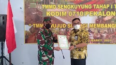 TMMD Di Desa Rowopucang Resmi Ditutup, Dandim Pekalongan Apresiasi Kepada Masyarakat