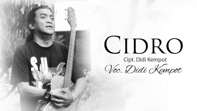 Lirik Cidro Didi Kempot
