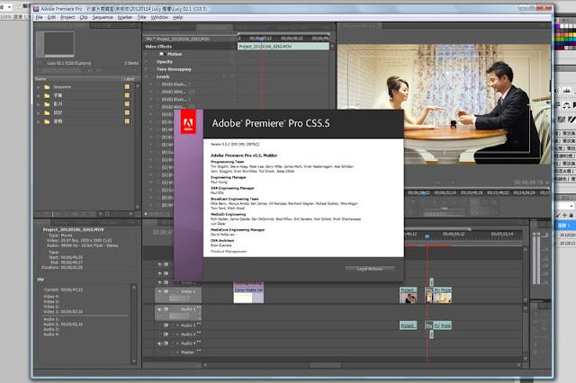 【Adobe】布蘭特大叔 + Adobe CS5.5 = !? - Adobe Premiere 的進化