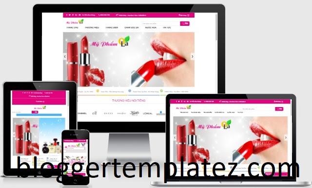 Template blogspot bán hàng việt hóa full