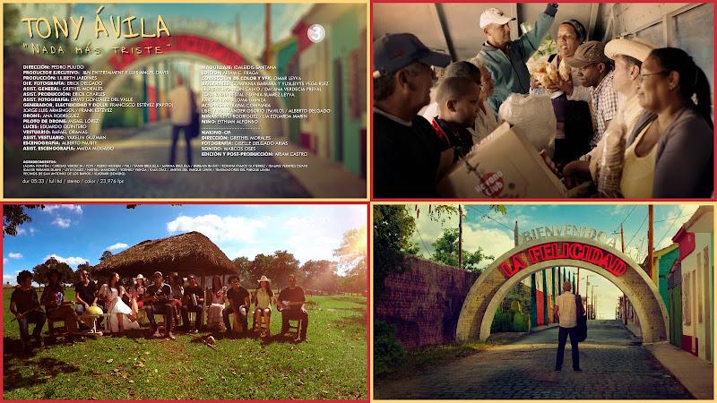 Tony Ávila - ¨Nada más triste¨ - Videoclip - Director: Pedro Pulido. Portal Del Vídeo Clip Cubano. Música cubana. CUBA.