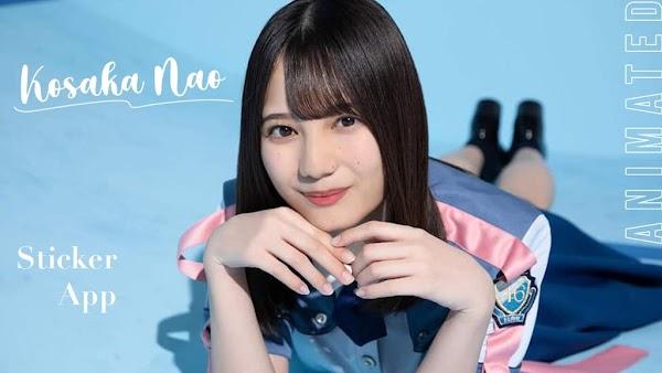 [UPDATE] WhatsApp Sticker App Kosaka Nao - Hinatazaka46 v1.2